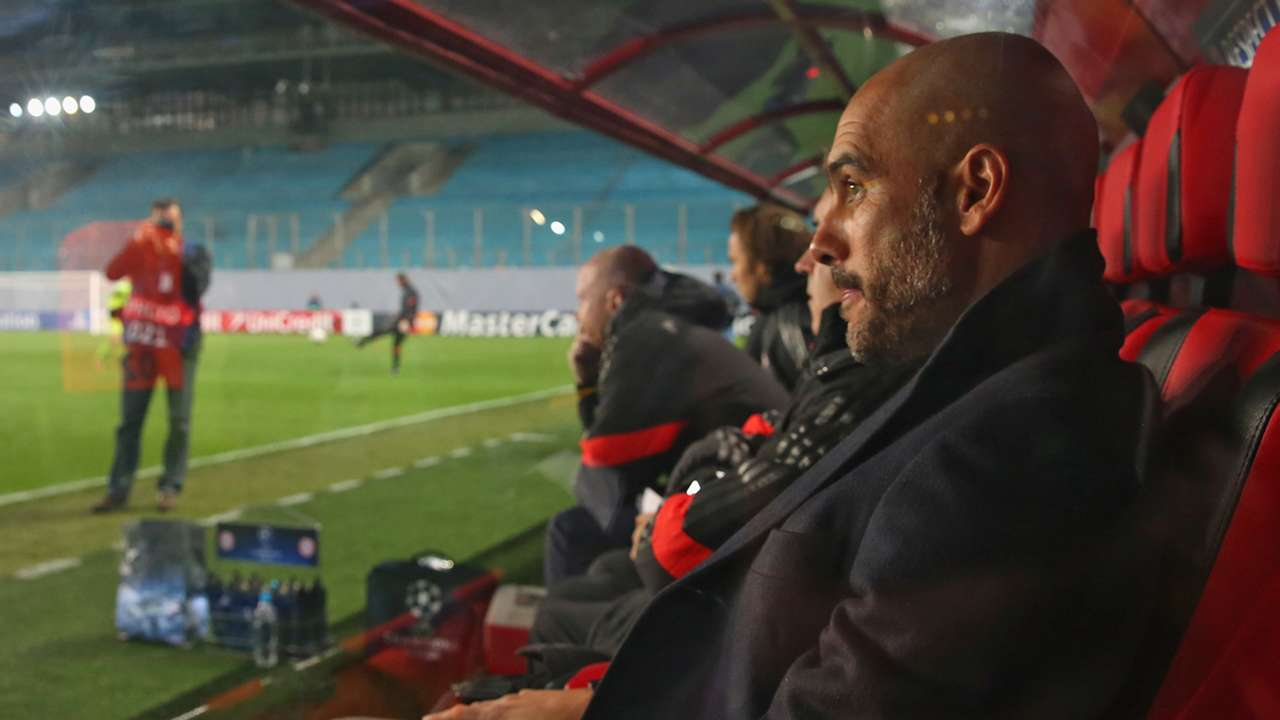 Pep Guardiola CSKA Moscow Bayern Munich Champions League 30092014