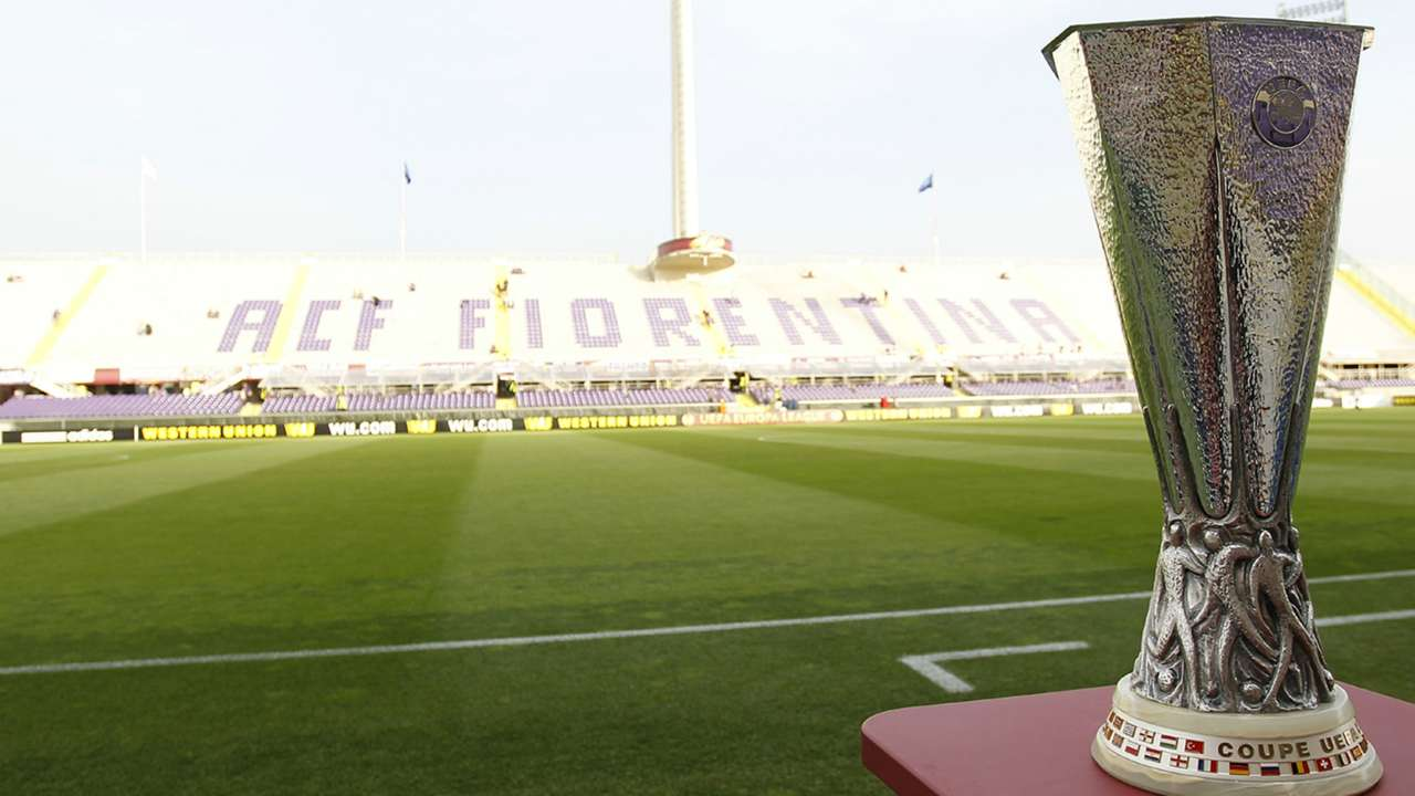 Europa League trophy Fiorentina