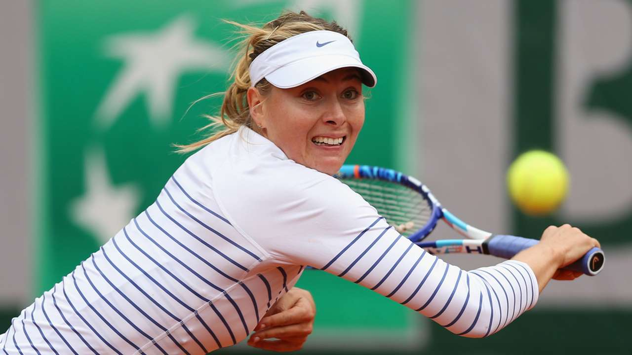 Maria Sharapova French Open 2015 29052015