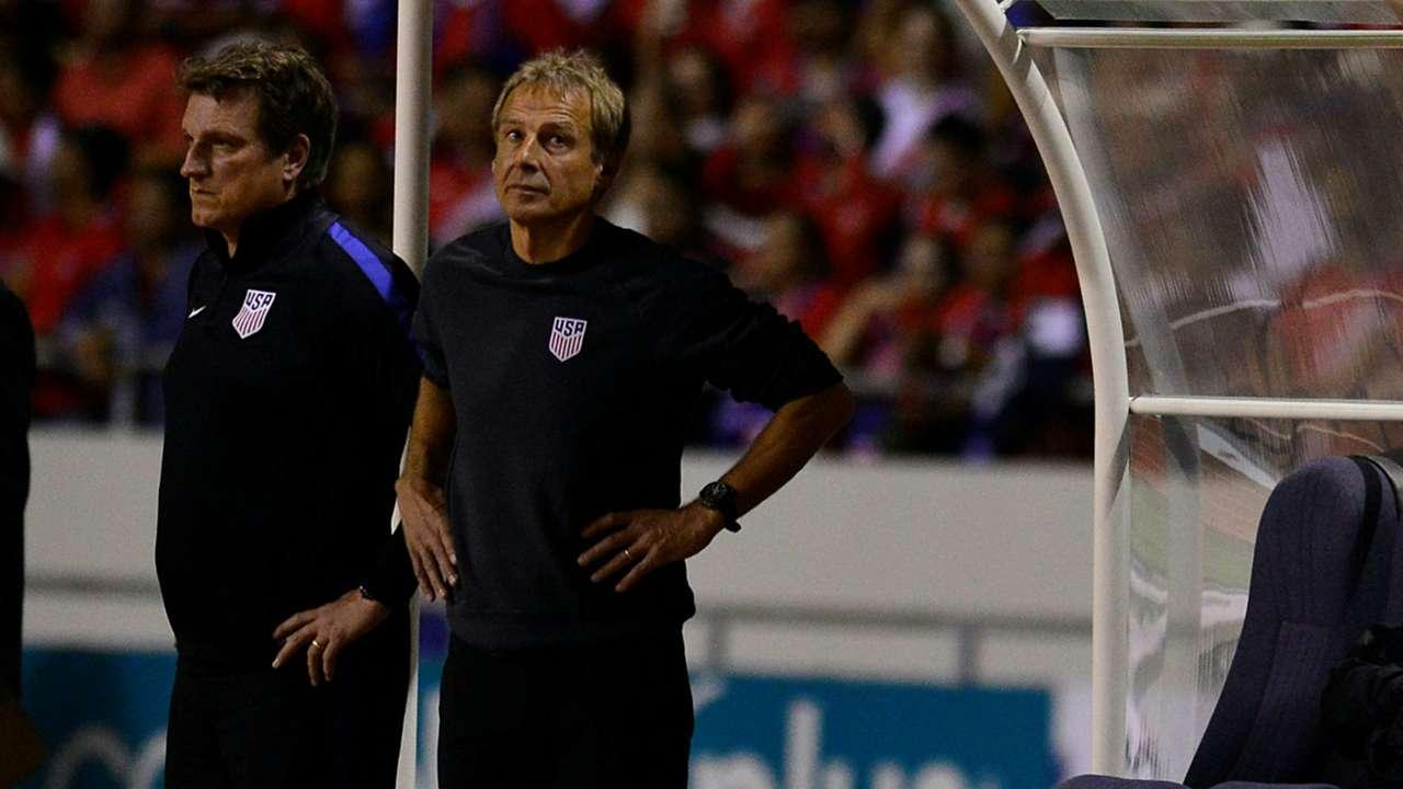 Jurgen Klinsmann USA Costa Rica WCQ 11152016