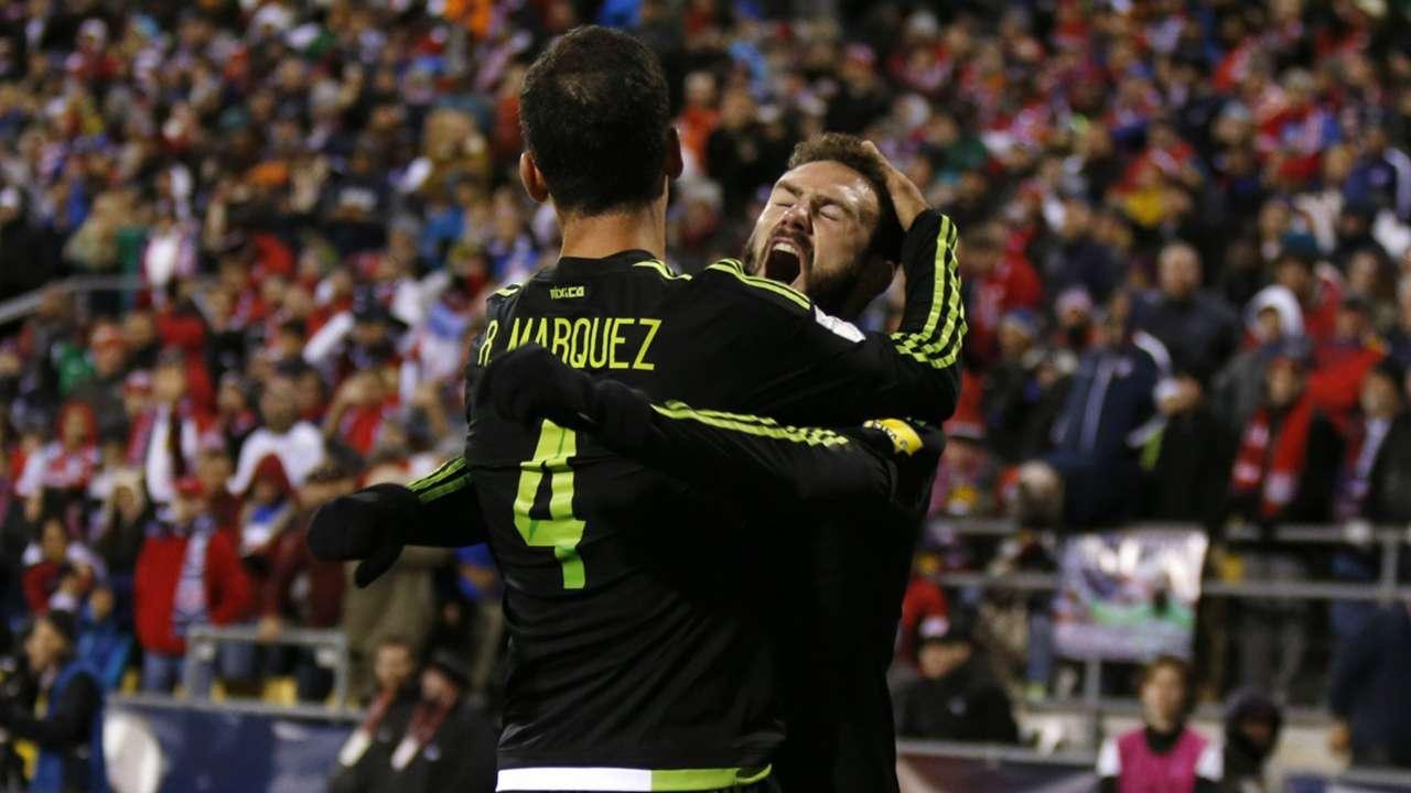 Rafa Marquez Miguel Layun Mexico CONCACAF World Cup qualifier 11112016