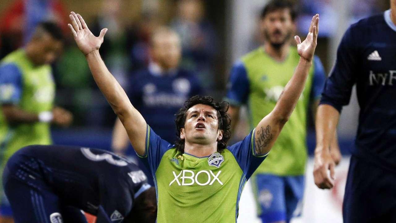 Nelson Valdez Seattle Sounders MLS 10282016