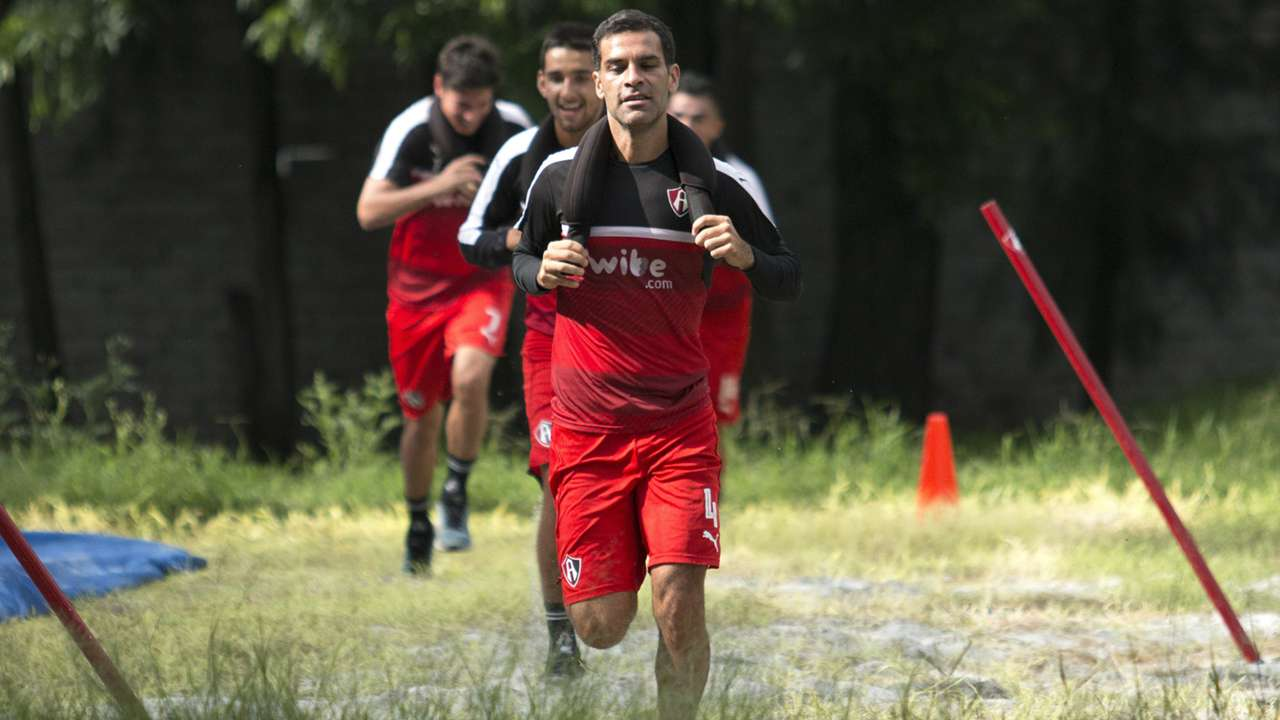 Rafa Marquez Atlas training Liga MX 08162016