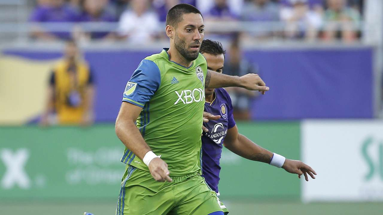 Clint Dempsey Seattle Sounders Orlando City MLS 08072016