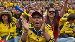 Colombia fans Copa America 2015