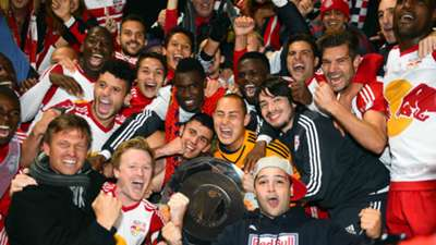 New York Red Bulls MLS Supporters' Shield 10252015