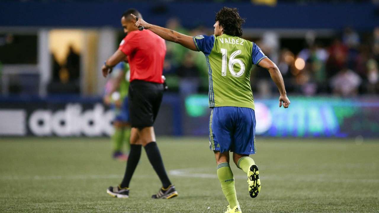 Nelson Valdez Seattle Sounders MLS 10272016