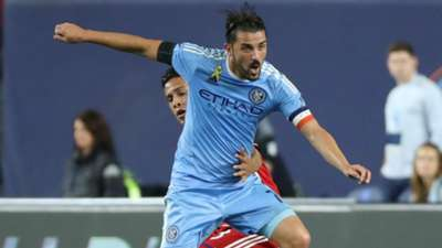 David Villa MLS NYCFC FC Dallas 09172016