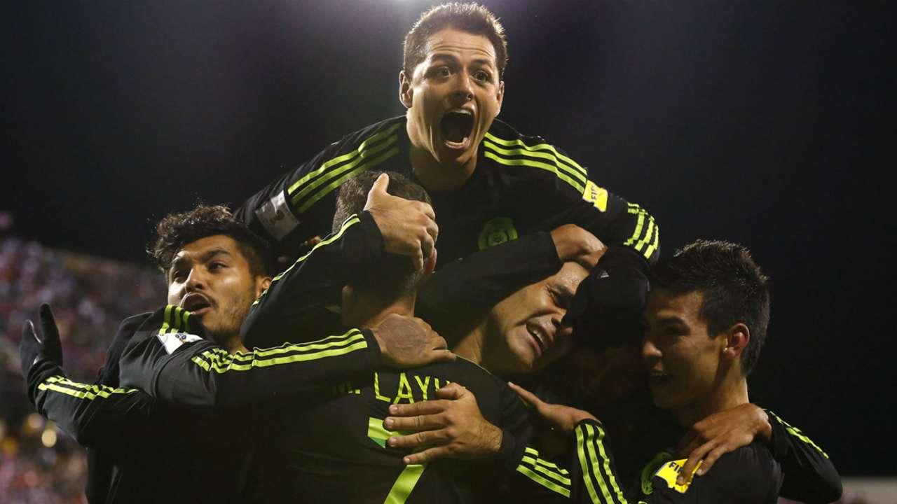 Javier Hernandez Mexico vs. USA 11112016