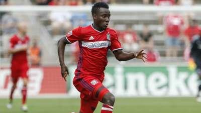 David Accam Chicago Fire MLS 08142016