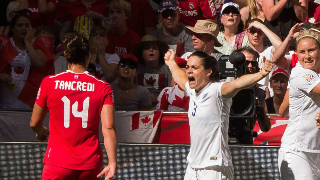 Melissa Tancredi Claire Rafferty Canada Women England Women 2015 Women's World Cup 20150627