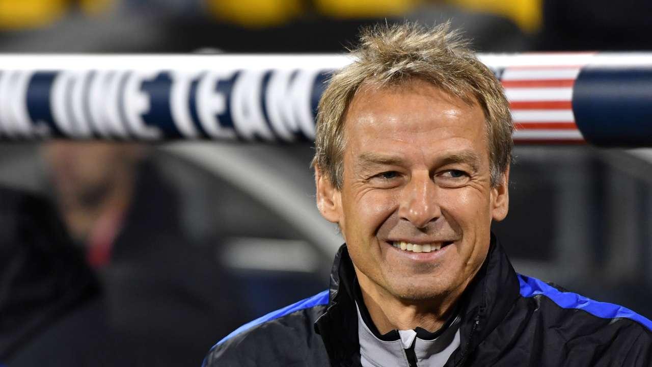 Jurgen Klinsmann USA 11112016