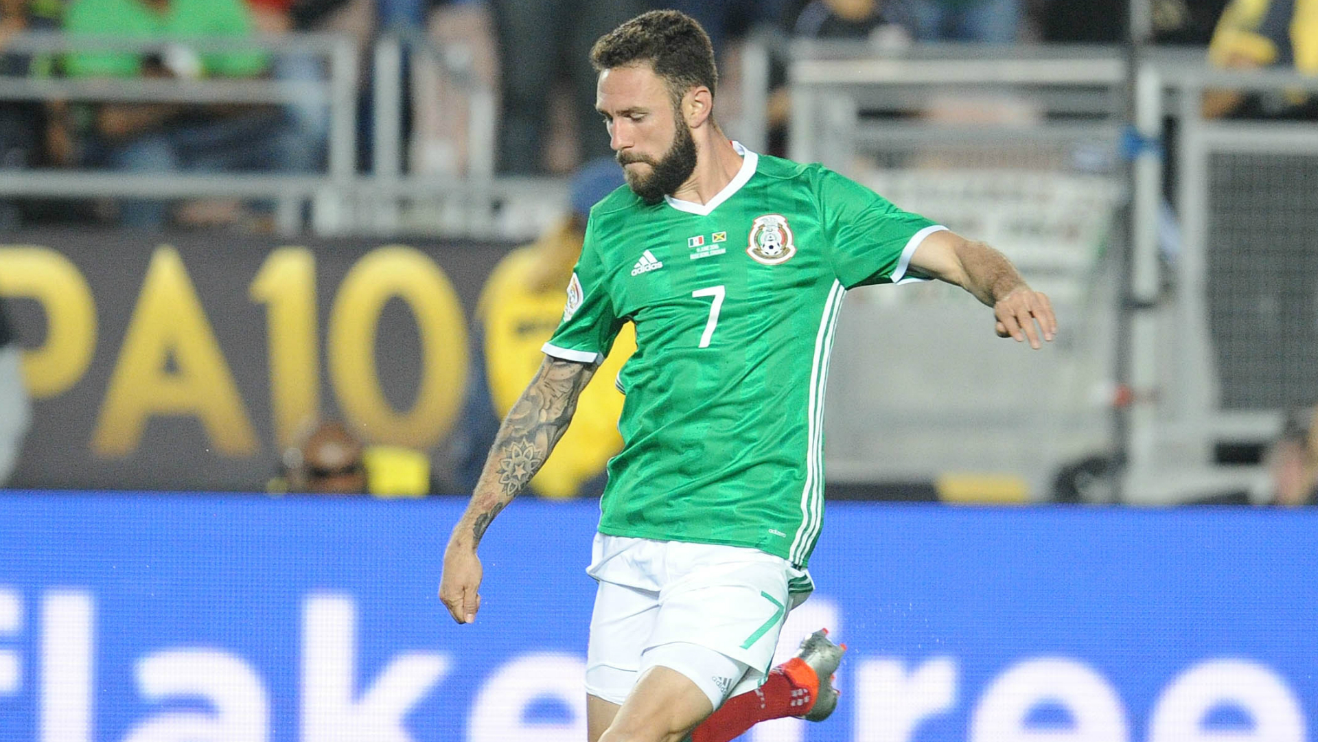 Watch Miguel Layun Nets First Cl Goal Of The Season Sporting News