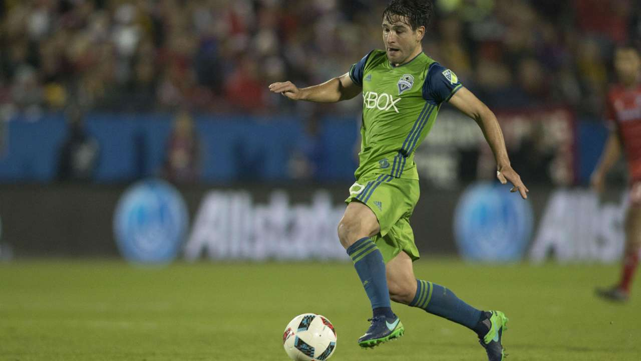 Nico Lodeiro Seattle Sounders FC Dallas MLS 11062016