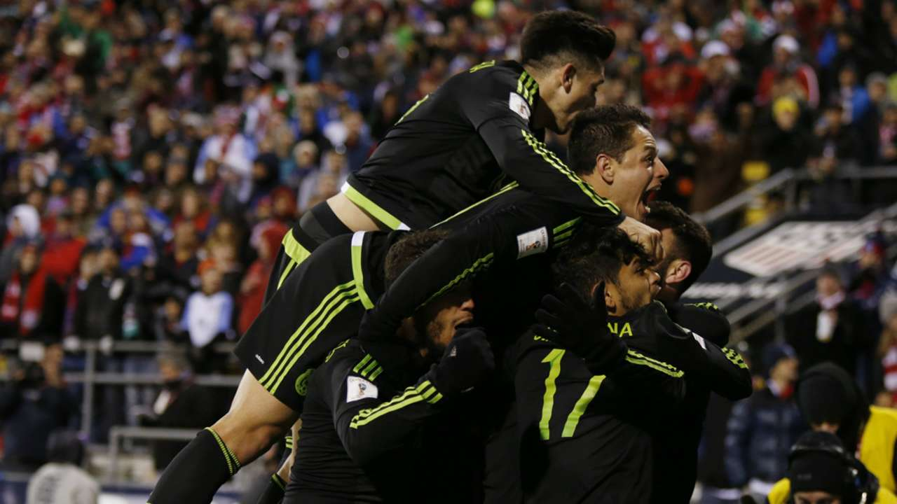 Mexico CONCACAF World Cup qualification 11112016
