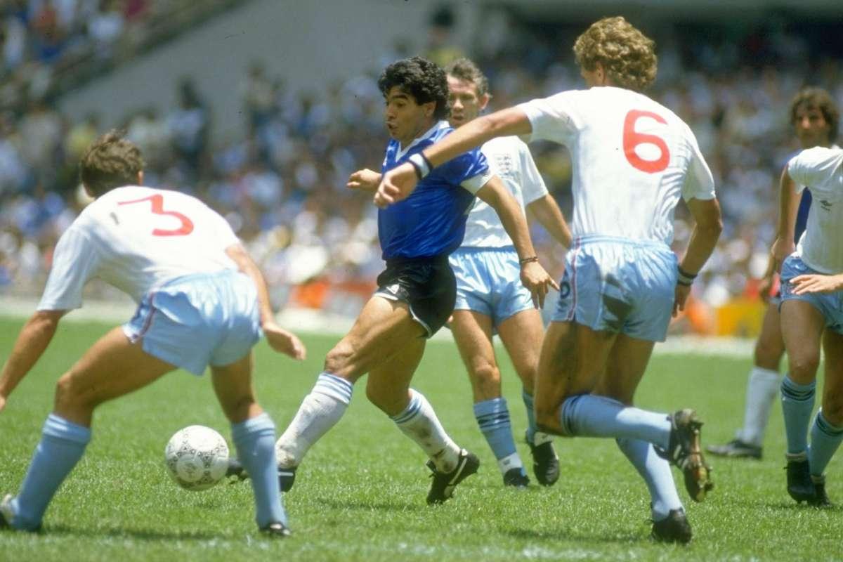 Maradona Y El Partido Contra Inglaterra Prohibido Olvidar Goal Com