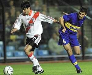 Juan Pablo Angel Walter Samuel Boca Juniors River Plate Copa Libertadores 2000