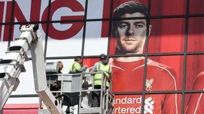 Steven Gerrard Liverpool Farewell
