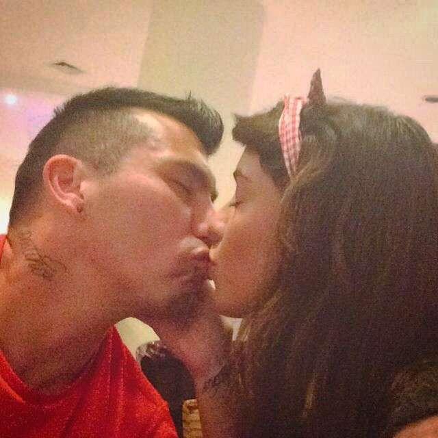 Cristina Morales - Gary Medel girlfriend