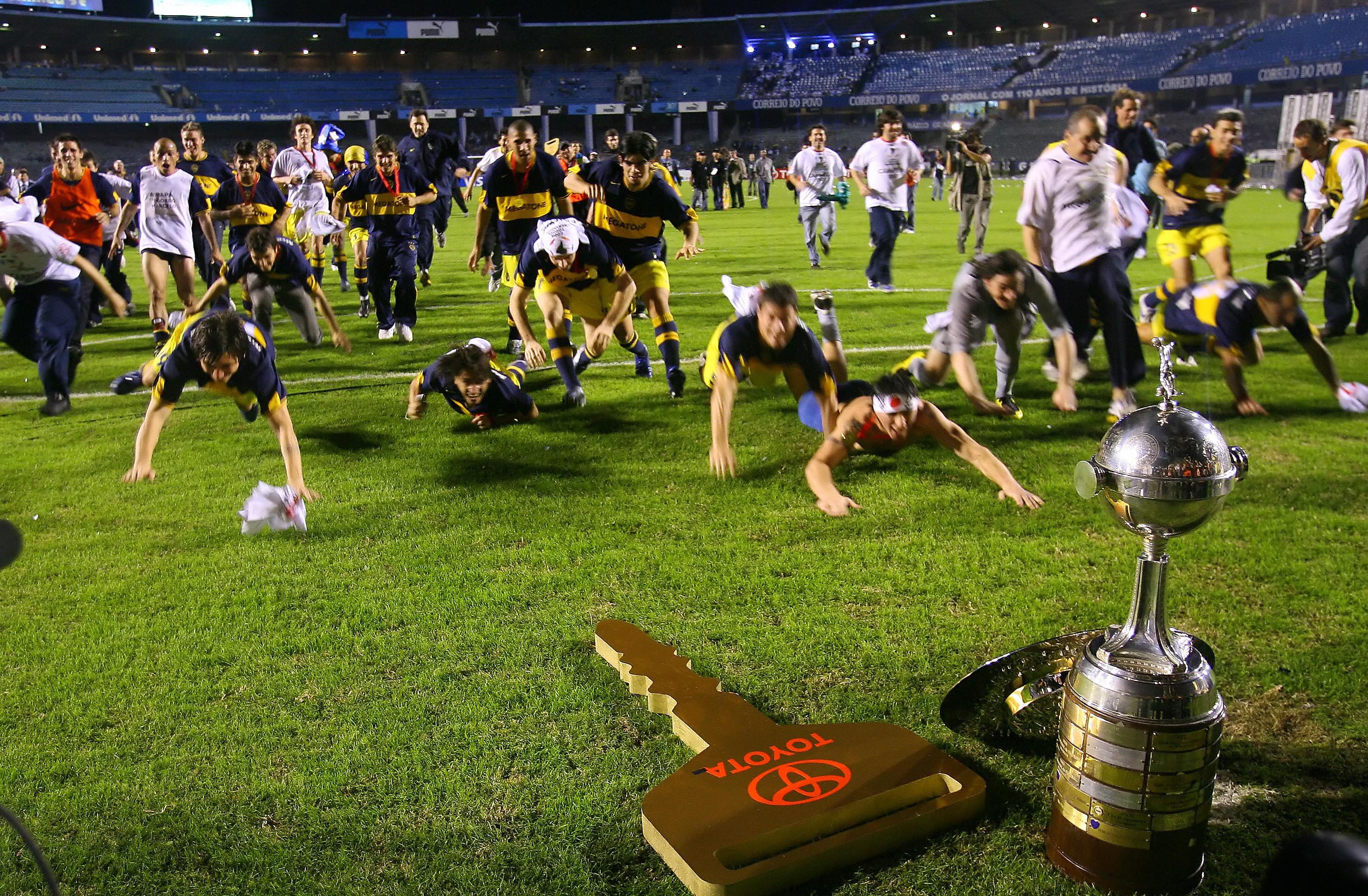 Boca campeón libertadores 2007