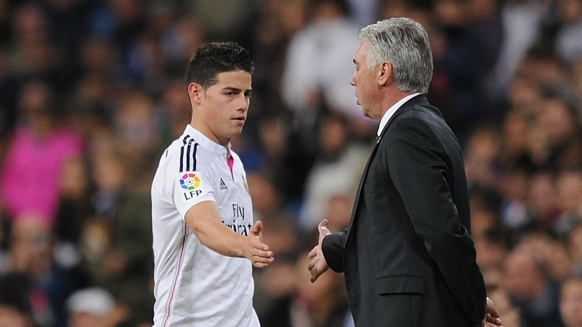 Carlo Ancelotti buscaría llevar a James Rodríguez al Everton