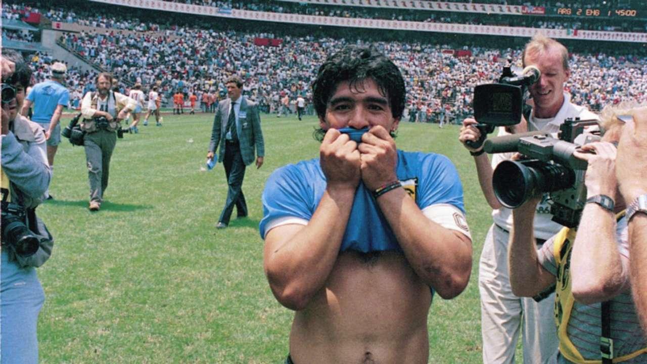 Diego Maradona Argentina England World Cup 1986