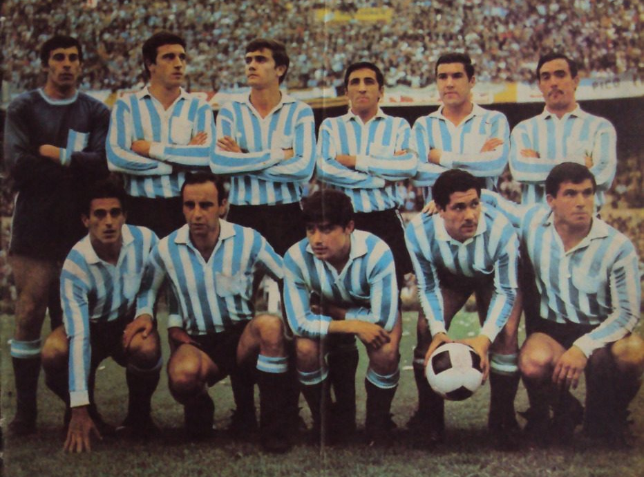 Racing Campeon Libertadores 1967