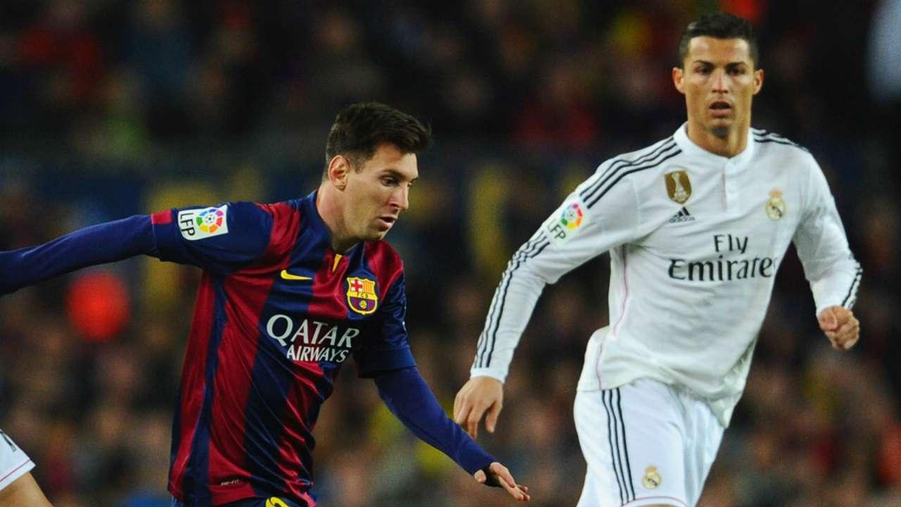 Lionel Messi Cristiano Ronaldo Barcelona Real Madrid La Liga 220032015