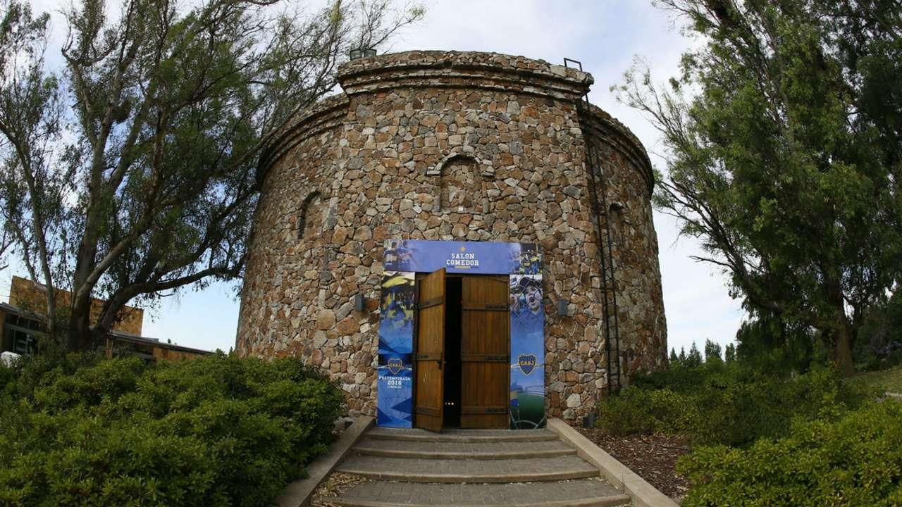 La casa de Boca en Cardales, donde hace la pretemporada. Enero 2016