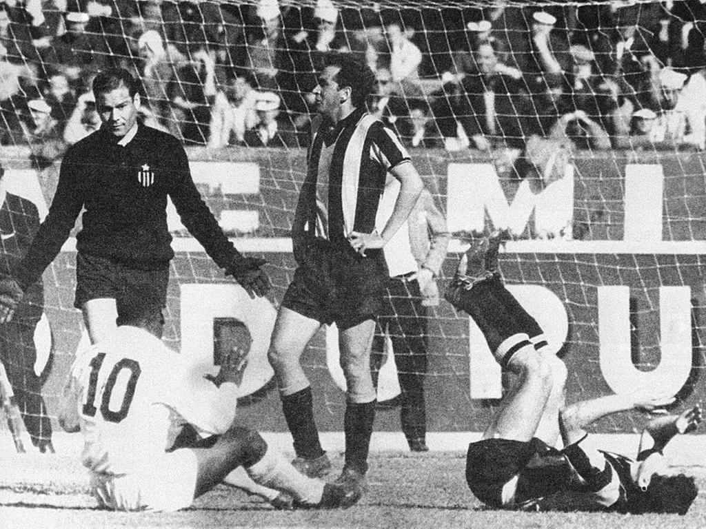 Santos Peñarol Copa Libertadores 1962 Incidents
