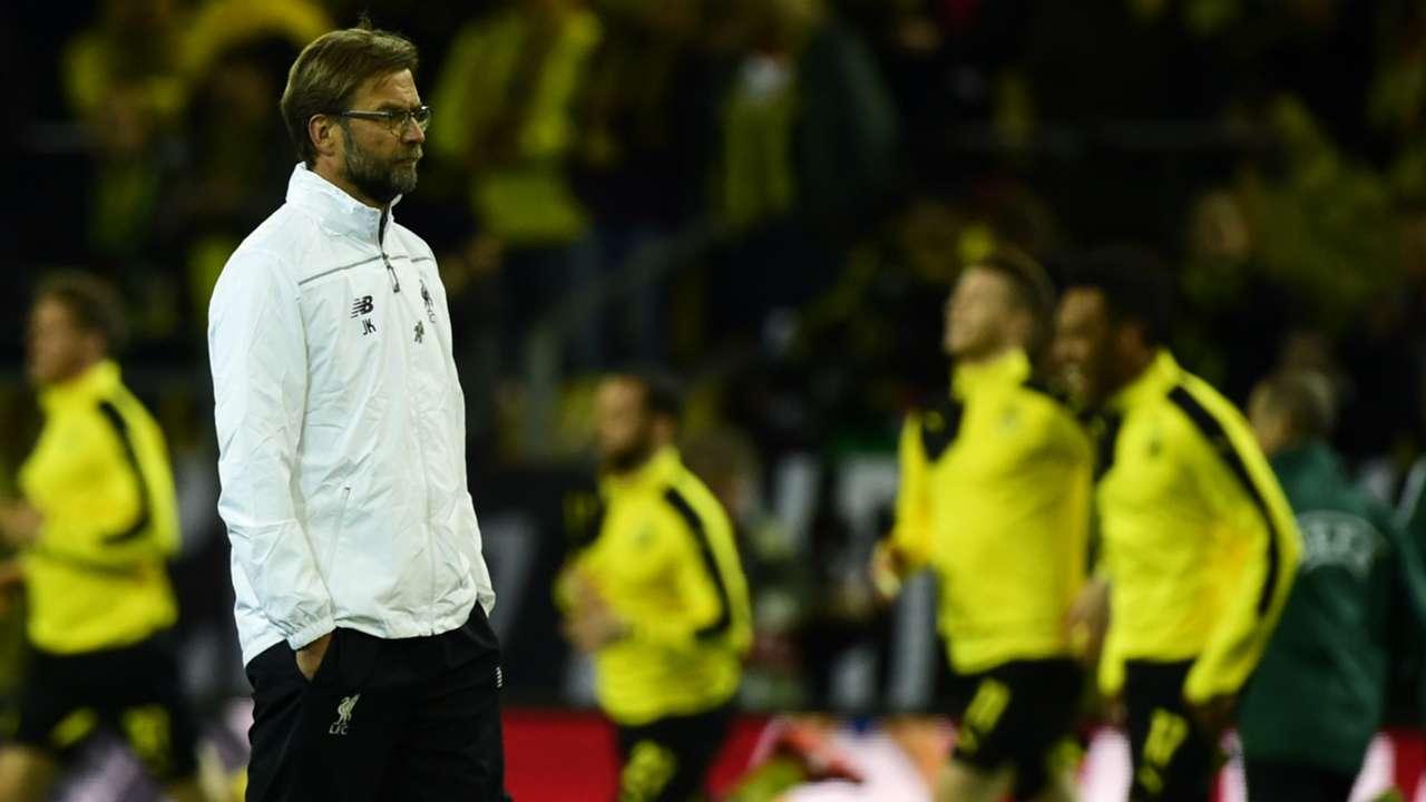 Jurgen Klopp Borussia Dortmund Liverpool Europa League 07042016