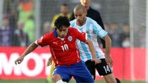 Javier Mascherano Argentina Chile Final Copa América 2015