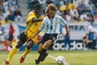 Argentina Jamaica. Mundial 1998.