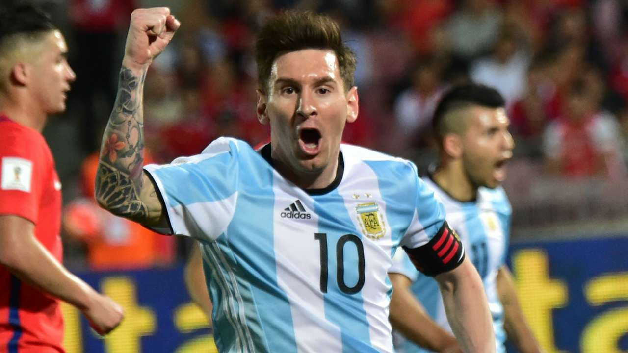 Lionel Messi Chile v Argentina Eliminatorias WC Qualifying South America 2018 24032016