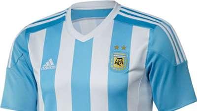 Argentina shirt 2015 front