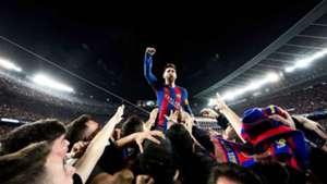 Lionel Messi Barcelona Fans Barcelona PSG Champions League 09032017