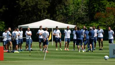 Argentina training session 14112015