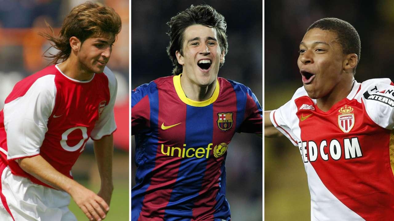 Goleadores más jóvenes UCL