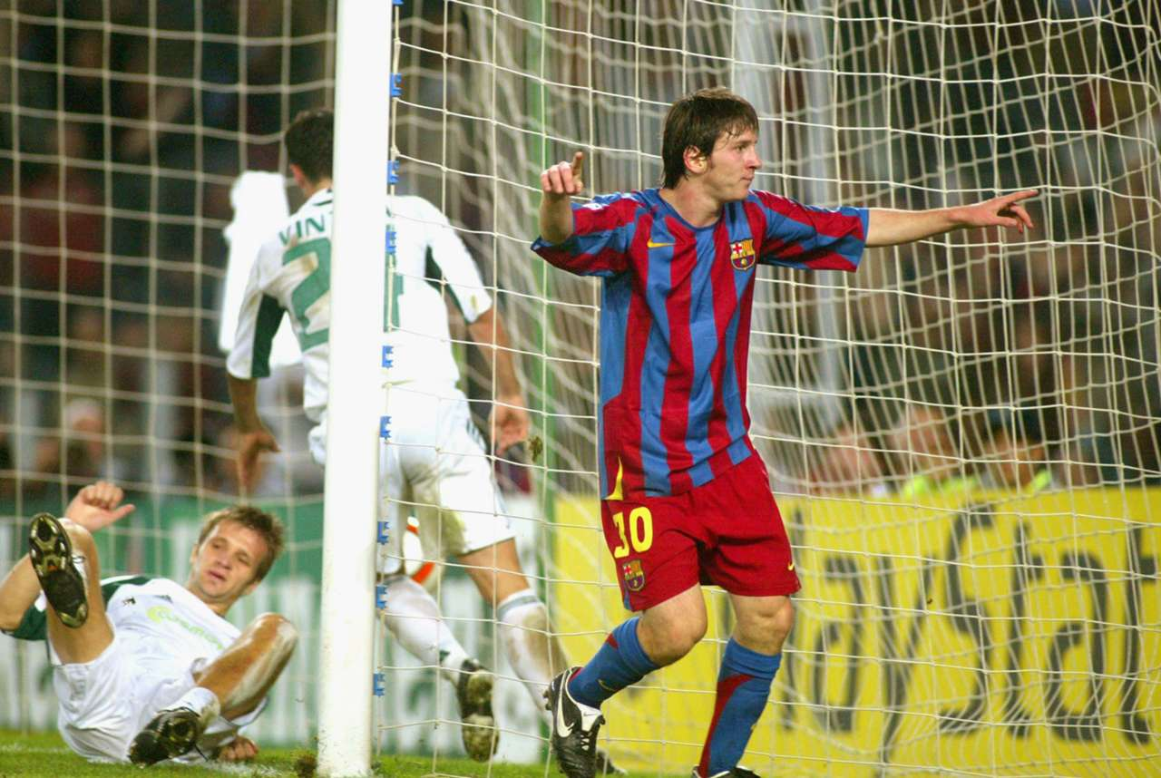 Lionel Messi Panathinaikos 02112005