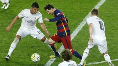 Messi Barcelona Real Madrid La Liga 02042016