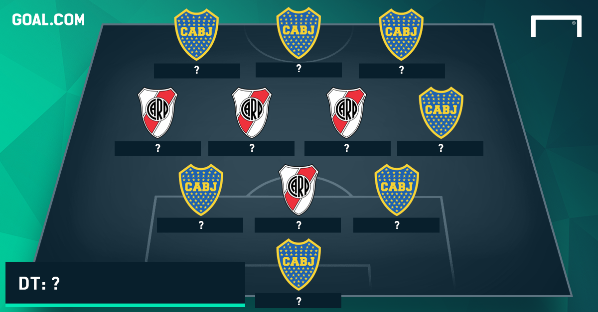 PS incompleto IX ideal de jugadores que pasaron por River y Boca
