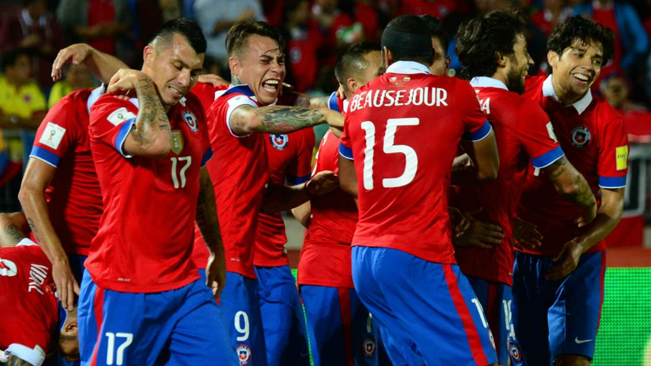 Chile v Colombia 12112015