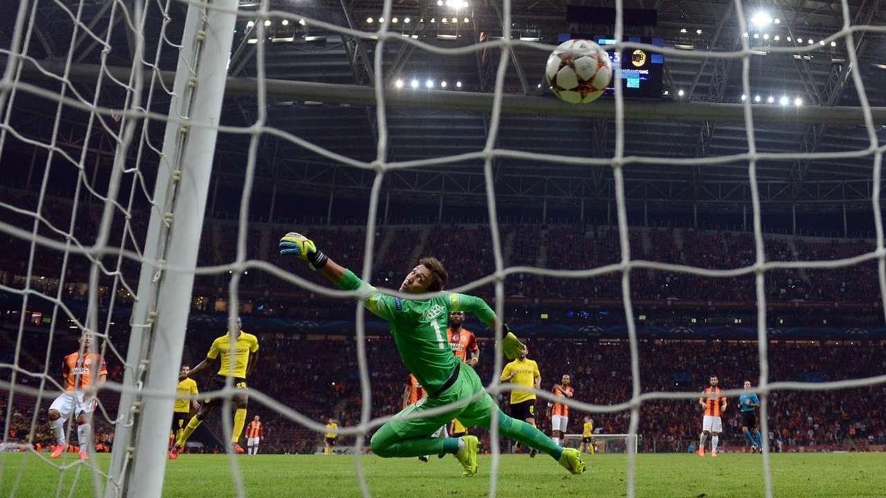 Adrian Ramos Borussia Dortmund Galatasaray UEFA Champions League 22102014
