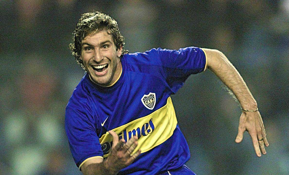 Martín Palermo Boca River Copa Libertadores 2000