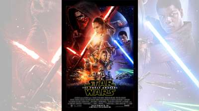 "Star Wars ""The Force Awakens"" poster"