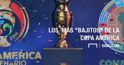 Caratula Los mas bajos Copa America