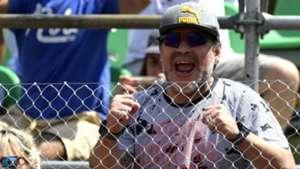 Diego Maradona Davis Cup Argentina v Italy 03022017