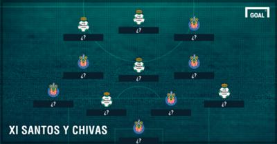 GALERÍA: El XI Ideal de futbolistas que jugaron en Chivas y Santos