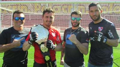Cebolla Rodriguez Martin Campaña Marcelo Rojo y Javier Ganin Independiente UFC 07092016