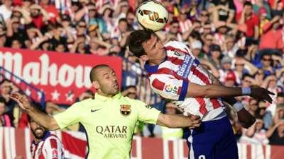 Javier Mascherano Barcelona Atlético Madrid